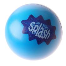 water-stuiterbal Splash 9,5 cm blauw