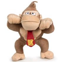 knuffel Donkey Kong 26 cm bruin