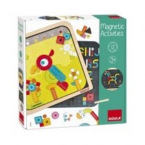Magnetic Activities magneetbord 29 x 29 cm 128-delig
