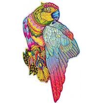 legpuzzel papegaai 26 x 19 cm hout 153 stukjes