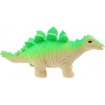knijpfiguur dinosaurus groen 14 cm