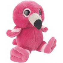 knuffel flamingo meisjes 15 cm pluche roze
