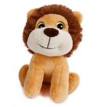 knuffel Wild Animals leeuw 18 cm pluche bruin