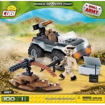 Small Army Desert Artilery Vehicle bouwset 100-delig 2199