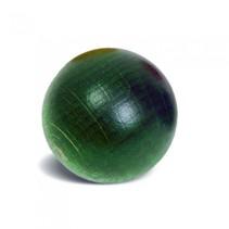groene knikker 3 cm hout