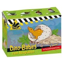 Baby-dino om uit te graven Tricenasaurus 8 cm