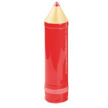 etui XL Pencil junior 24,5 x 6 cm rood