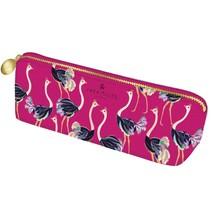 pennenetui Sara Miller 21 x 6,5 cm roze