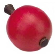 tol hout 6 cm appelvorm rood