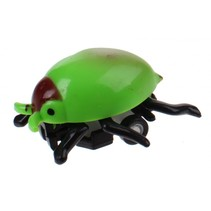 Insectenauto pull back Tor 4,5 cm groen/zwart