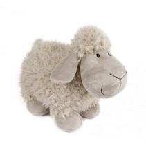 knuffel schaap pluche 20 cm wit