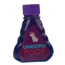 eenhoornslijm 180 gram paars/blauw met glitters