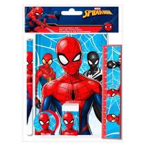 schrijfset Spiderman 25 x 19 cm 5-delig
