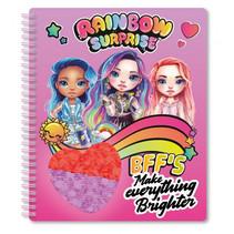 notitieboek Rainbow Surprise BFF's junior A5 papier roze