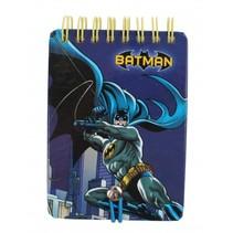 notitieboekje Batman blauw 7,5 x 10,5 cm