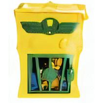 superzings Kaboom Trap jongens geel 3-delig