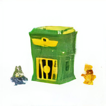 superzings Kaboom Trap jongens groen 3-delig