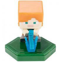 speelfiguur Minecraft Earth Boost junior 5 cm oranje/groen