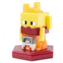speelfiguur Minecraft Earth Boost junior 5 cm geel/rood