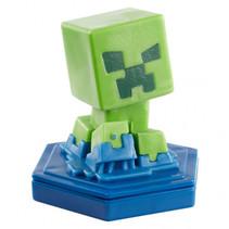 speelfiguur Minecraft Earth Boost junior 5 cm groen/blauw