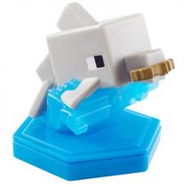 speelfiguur Minecraft Earth Boost junior 5 cm grijs/blauw
