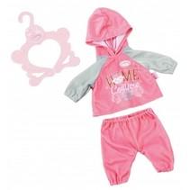 kledingset Baby Suits roze 3-delig 43 cm