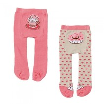 maillot 2 stuks roze hartjes 22 cm
