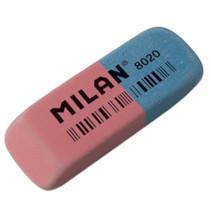 gum Milan 6,3 x 2,4 rubber roze/blauw