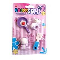 gummen Color Gomiz 4-delig multicolor (#10)