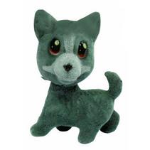 speelfiguur hond junior 7 cm grijs