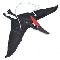 reptiel Pteranodon junior 25 cm rubber zwart