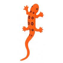 speelfiguur salamander 23 cm oranje