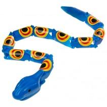 slang 38 cm blauw