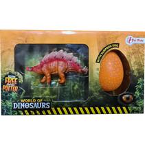 verrassingsei Stegosaurus junior 21 x 12 cm 3-delig