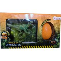 verrassingsei Tyranosaurus junior 21 x 12 cm 3-delig