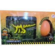 verrassingsei Tsintaosaurus junior 21 x 12cm 3-delig