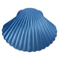groei-schelp zeemeermin blauw 9 x 9 cm