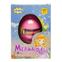 mermaid-ei magisch 6 x 4 cm roze