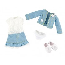Spring Queen outfit tienerpop kledingset 4-delig