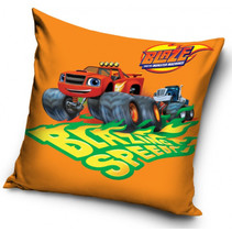 kussen brazing speed jongens 40 cm polyester oranje