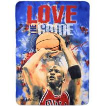 fleecedeken Michael Jordan 100 x 140 cm blauw