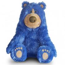 Knuffel pratende Boomer Wonderpark 28 cm blauw pluche