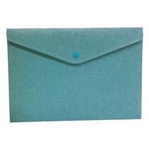 portfoliomap Glitter meisjes polyester blauw