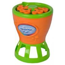 bellenblaasmachine Bubble Fun oranje/groen