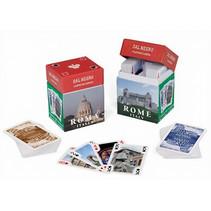 mini-speelkaarten Souvenir Rome karton 110-delig