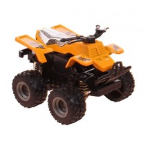 quad off-road geel 8 cm