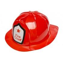 brandweerhelm junior rood