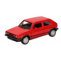 schaalmodel VW Golf 1 GTI pull-back 12 cm rood