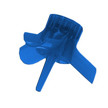 adapter met waterballonnen junior blauw 81-delig