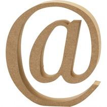houten symbool @ 8 cm